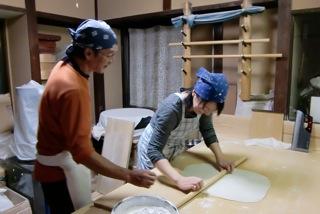 紫仙庵蕎麦打ち教室_e0238306_916196.jpg