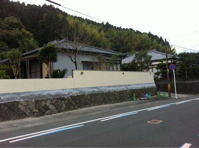 日南市H様邸和風塀renovation工事_b0236217_141215.jpg