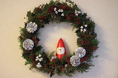 秋冬リース & クリスマスリース_b0238118_19501458.jpg