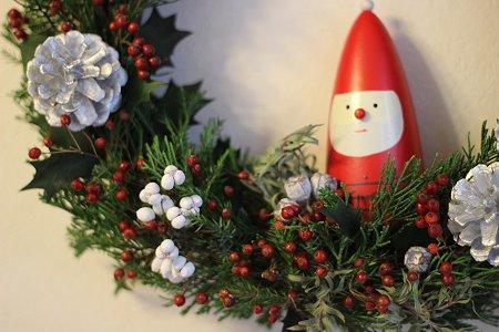 秋冬リース & クリスマスリース_b0238118_19522744.jpg
