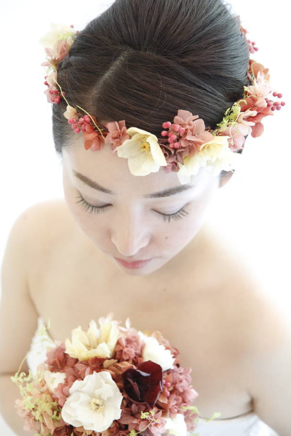 新郎新婦様からのメール アンティークと花 しかし花などどうでもいい 日比谷パレス様へ_a0042928_0331240.jpg