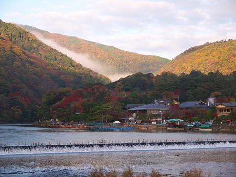 京の紅葉(1)嵐山_c0057946_19433637.jpg