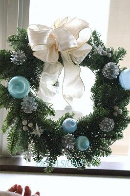 クリスマスリース・レッスン_e0158355_8133756.jpg