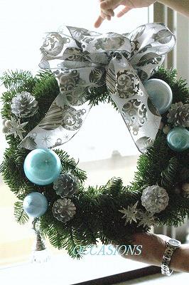 クリスマスリース・レッスン_e0158355_8135041.jpg