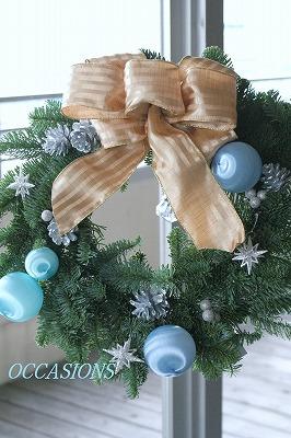 クリスマスリース・レッスン_e0158355_81386.jpg