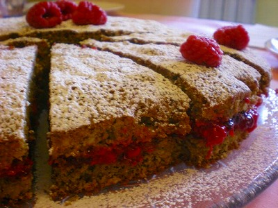TORTA DI  GRANO SARACENO~そばのケーキ~_f0229557_1810557.jpg