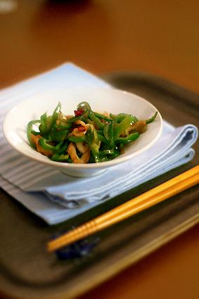高野豆腐で豚キムチ_e0137277_116786.jpg