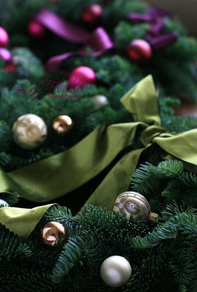 クリスマスリースlesson_f0127281_16253870.jpg