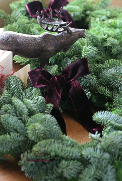 クリスマスリースlesson_f0127281_19104846.jpg