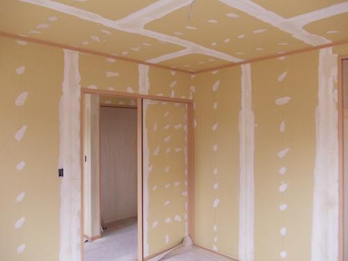 豊科H邸内装工事始りました。_c0218716_1994237.jpg