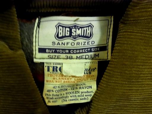 アメリカ仕入れ情報#12 50'S デッドストック BIGSMITH カバーオール&PAYDAY!!_c0144020_1401188.jpg