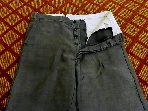 30-40'S オールコットン 杢ストライプ WORK PANTS!_c0144020_141168.jpg