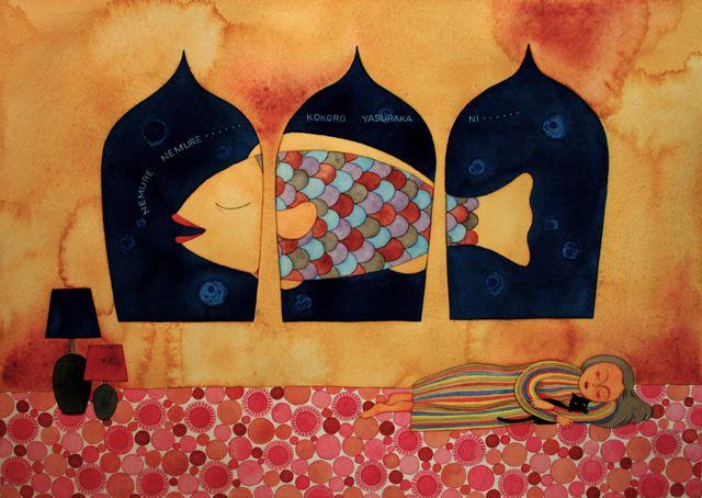 「絵と毎日とおしゃべりと。」の鈴木奈月さん登場!_c0039735_20111550.jpg