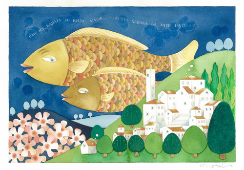 「絵と毎日とおしゃべりと。」の鈴木奈月さん登場!_c0039735_20125434.jpg