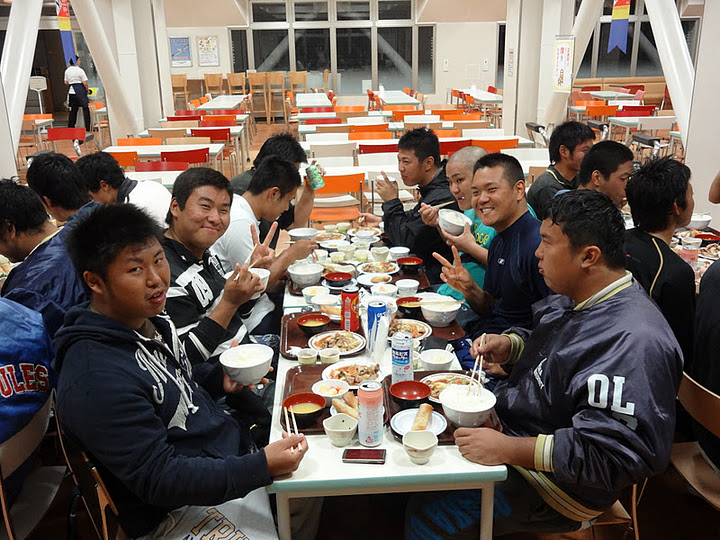 2011秋シーズン 夕食@図書館下食堂_e0137649_15261020.jpg