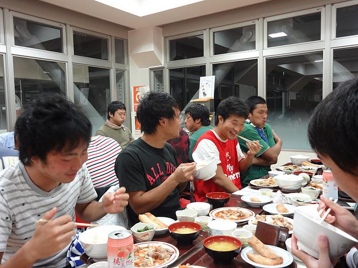 2011秋シーズン 夕食@図書館下食堂_e0137649_1528538.jpg
