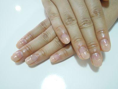 Beige Elegant Nail_a0239065_15584720.jpg