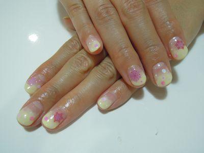 Pickup Nail〜Yellow_a0239065_17491947.jpg