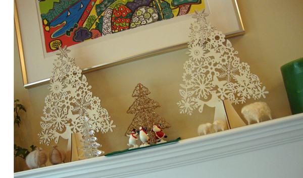 【 軽井沢インテリア 5  】 雪の軽井沢 と クリスマスデコレーション ♪_d0037284_1093418.jpg