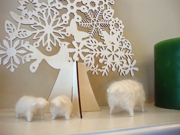【 軽井沢インテリア 5  】 雪の軽井沢 と クリスマスデコレーション ♪_d0037284_9283586.jpg
