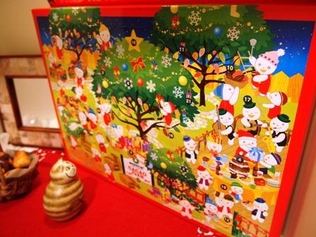 クリスマスを迎える準備は粛々と進行しています_e0167593_1124394.jpg