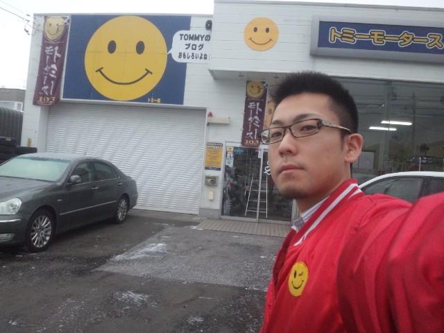 ランクル TOMMY札幌店 12月3日!本格的な冬の到来です☆_b0127002_1915459.jpg