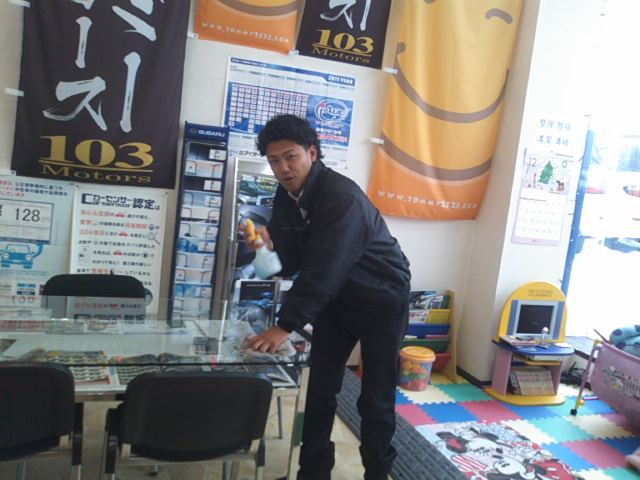 ランクル TOMMY札幌店 12月3日!本格的な冬の到来です☆_b0127002_192263.jpg