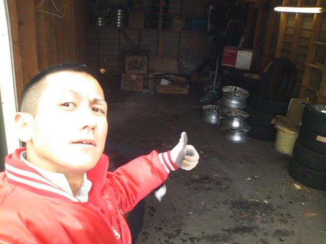 ランクル TOMMY札幌店 12月3日!本格的な冬の到来です☆_b0127002_2011757.jpg