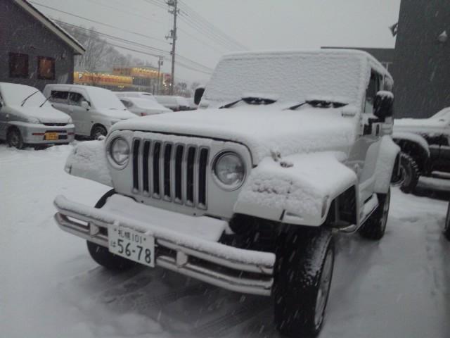 ランクル TOMMY札幌店 12月3日!本格的な冬の到来です☆_b0127002_20222276.jpg
