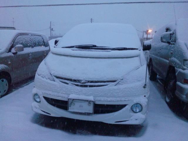 ランクル TOMMY札幌店 12月3日!本格的な冬の到来です☆_b0127002_20312411.jpg