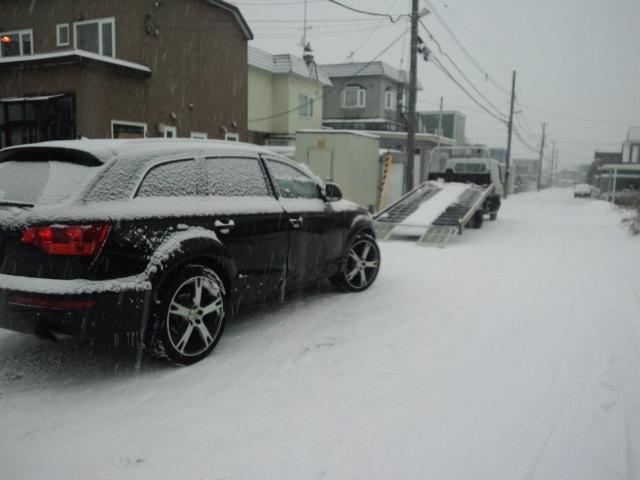 ランクル TOMMY札幌店 12月3日!本格的な冬の到来です☆_b0127002_20333476.jpg