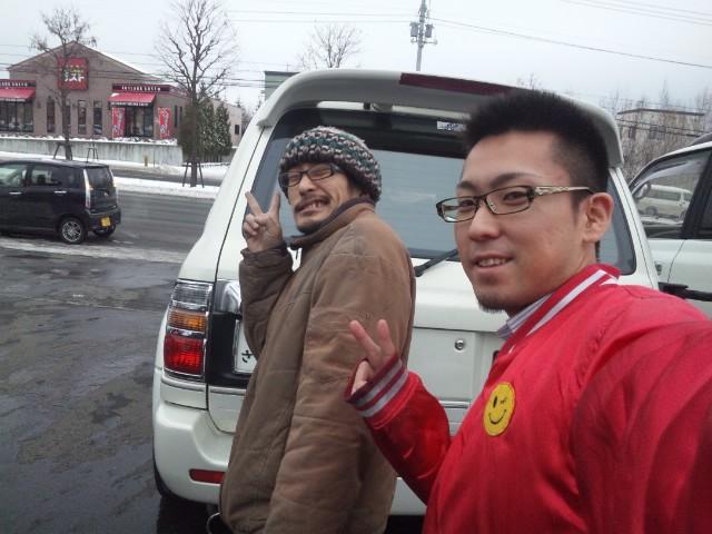 ランクル TOMMY札幌店 12月3日!本格的な冬の到来です☆_b0127002_2042782.jpg