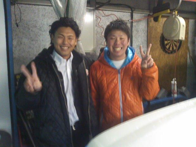 ランクル TOMMY札幌店 12月3日!本格的な冬の到来です☆_b0127002_20585849.jpg