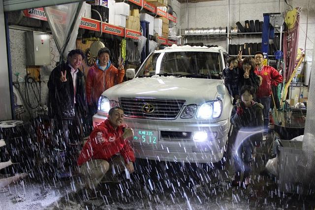 ランクル TOMMY札幌店 12月3日!本格的な冬の到来です☆_b0127002_214123.jpg