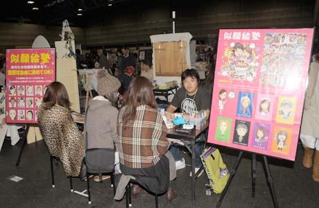 """名古屋総合デザイン専門学校在校生\""""似顔絵塾""""がクリエーターズマーケットVol25に出店しました。_b0110019_23491719.jpg"""