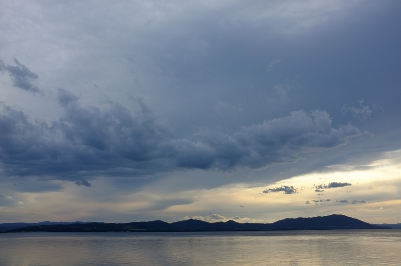 サロマ湖夕景_f0050534_032524.jpg