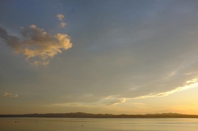 サロマ湖夕景_f0050534_034552.jpg
