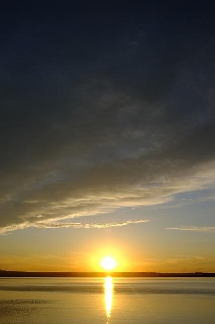 サロマ湖夕景_f0050534_04104.jpg