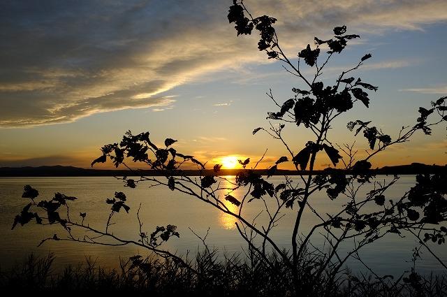 サロマ湖夕景_f0050534_044037.jpg