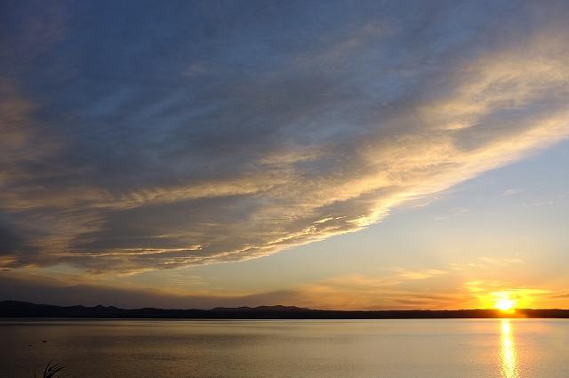 サロマ湖夕景_f0050534_051167.jpg