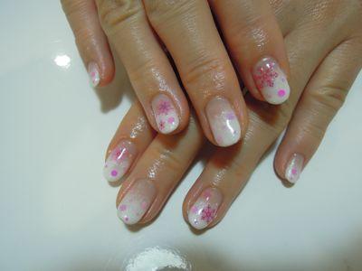 Pickup Nail~White_a0239065_17241371.jpg