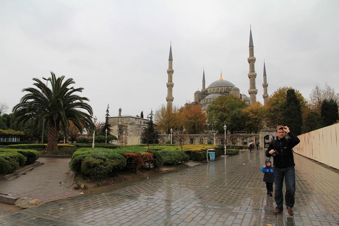 スルタンアフメト・ジャーミィ(Sultanahmet Camii)      イスタンブール その11_a0107574_20373610.jpg