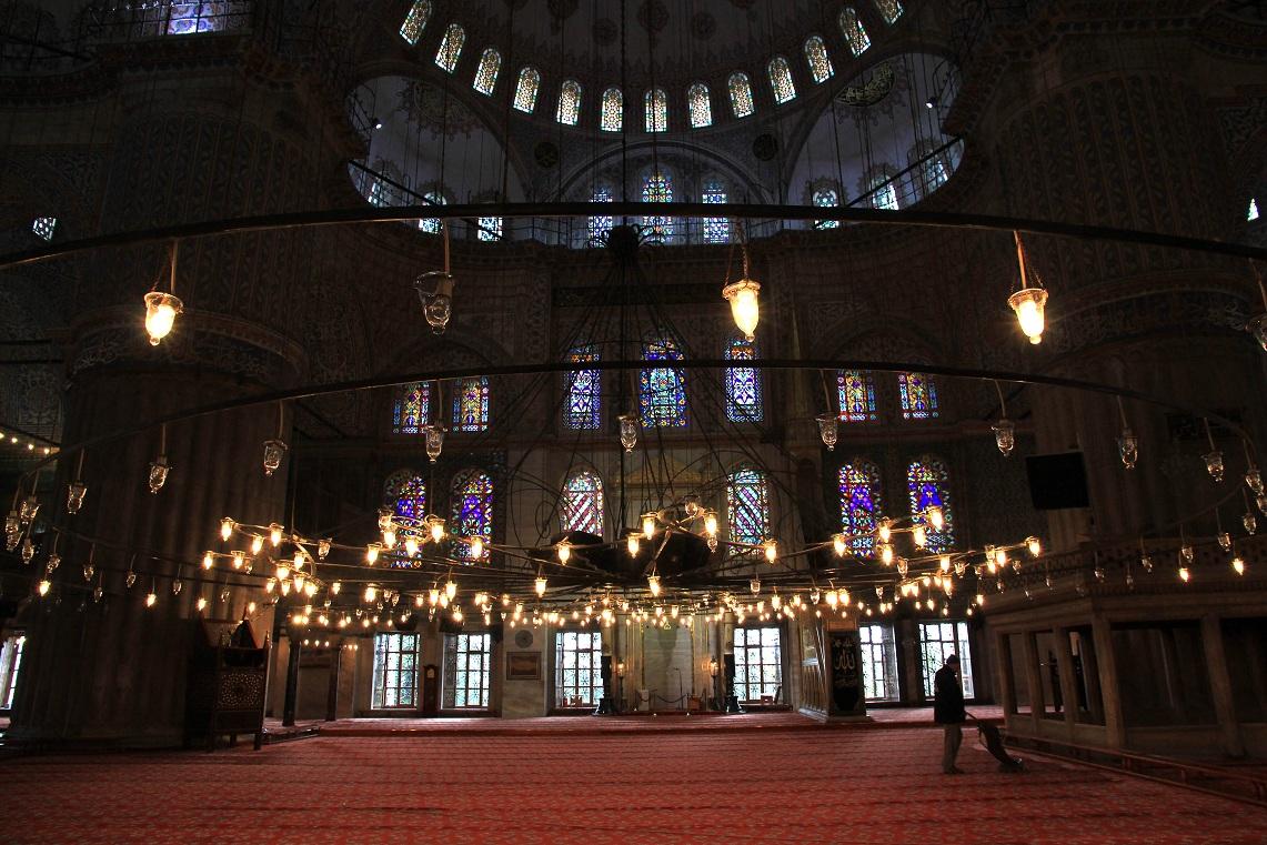 スルタンアフメト・ジャーミィ(Sultanahmet Camii)      イスタンブール その11_a0107574_2053826.jpg