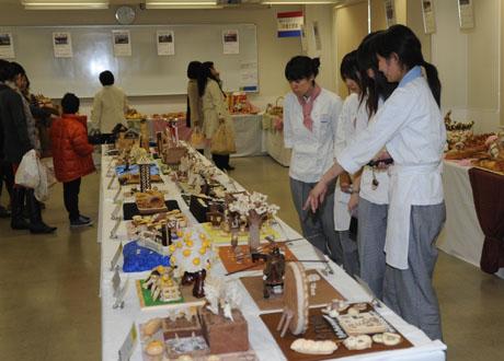 名古屋製菓専門学校第13回パンフェスティバル開催してます。_b0110019_13233636.jpg