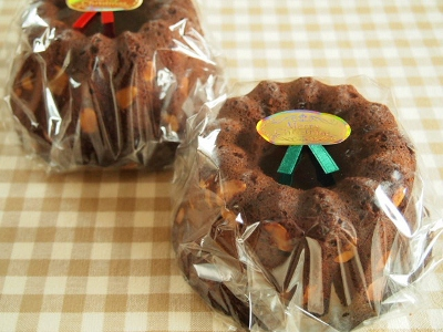 ご依頼いただいたお菓子~ガトーショコラ、オレンジのパウンド~_c0213947_20575296.jpg