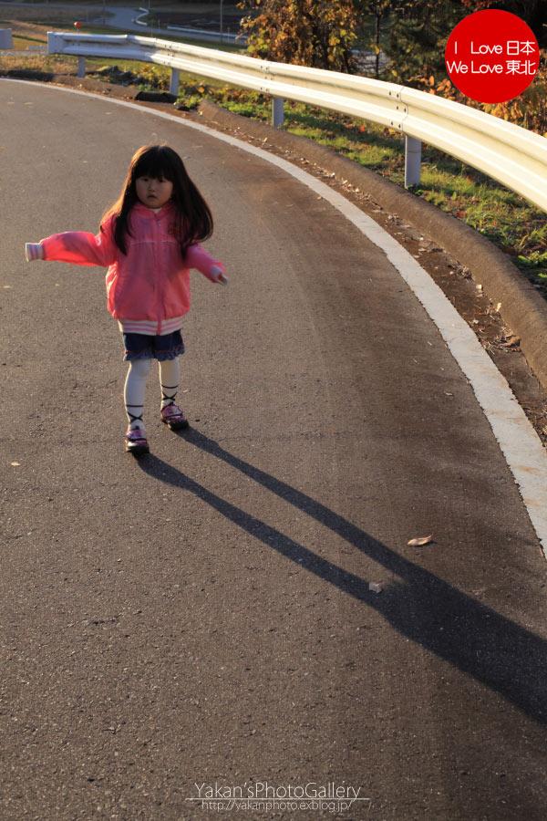 娘と秋の散歩道_b0157849_17144112.jpg