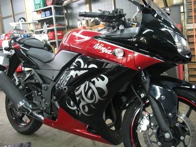 ニンジャにバイクザシート!_e0114857_10142494.jpg