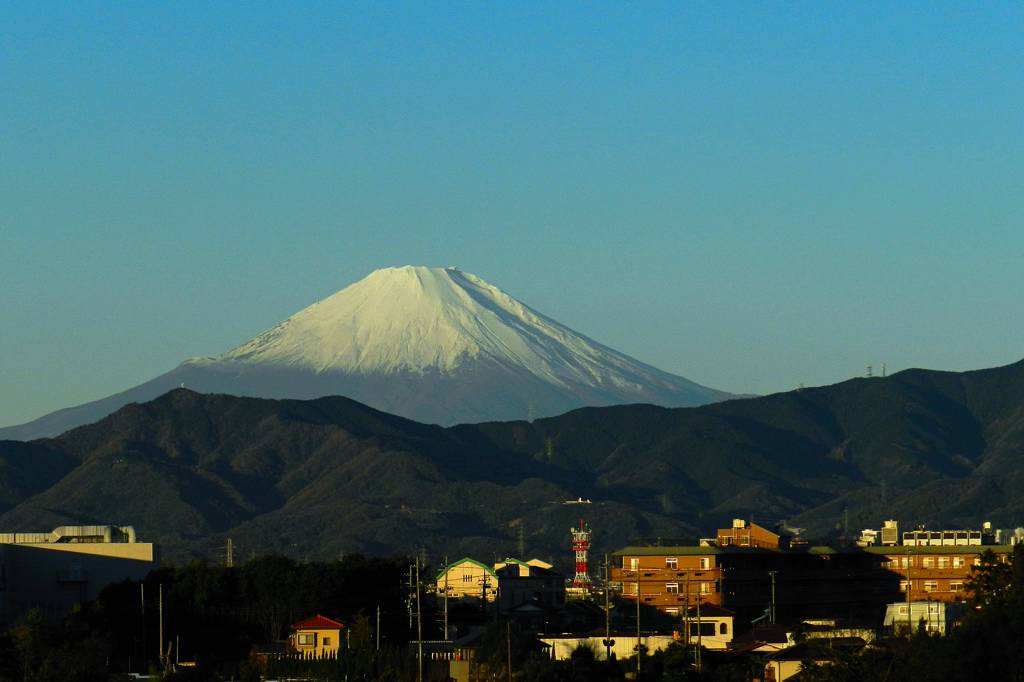 auのモービル用データカード/ソウシチョウ/今朝の富士山_b0024798_11231770.jpg