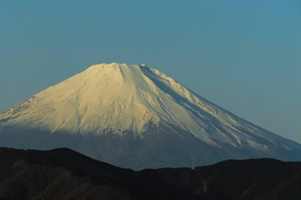 auのモービル用データカード/ソウシチョウ/今朝の富士山_b0024798_11232267.jpg