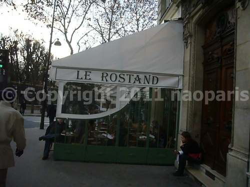 【街角のキャフェ】LE ROSTAND PARIS_a0014299_2329890.jpg